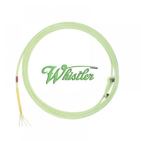 Corda para Laço em Dupla Team Roping 4 Tentos Verde Whisther Cactus 1064