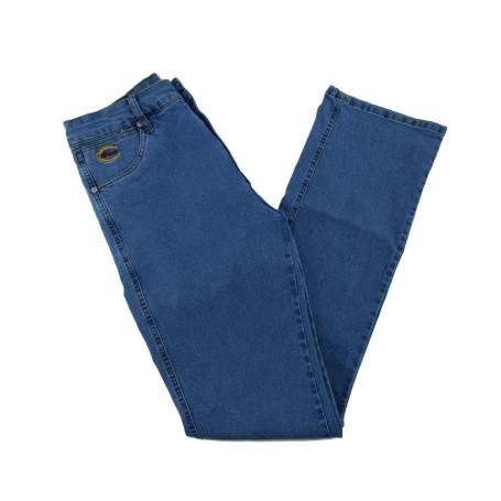 Calça Jeans Masculina Azul Médio com Elastano West Country 1161