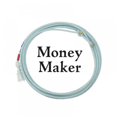 Corda para Laço em Dupla Team Roping 3 Tentos Azul Money Maker Classic 1237