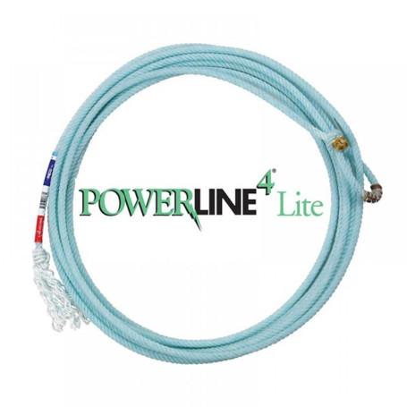 Corda para Laço em Dupla Team Roping 4 Tentos Azul Power Line Classic 1238