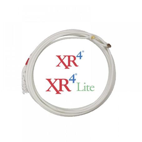 Corda para Laço em Dupla Team Roping 4 Tentos Branco XR4 Classic 1238