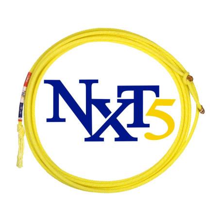 Corda para Laço em Dupla Team Roping 5 Tentos Amarela NXT5 1239