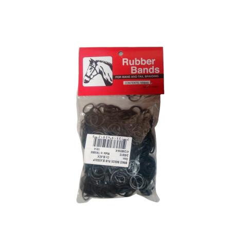 Liga de Crina Rubber Bands Preta Ref 24591-RU Cod 1256