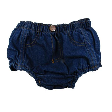 Short Classic Infantil Unissex Jeans Amaciada Cod 126