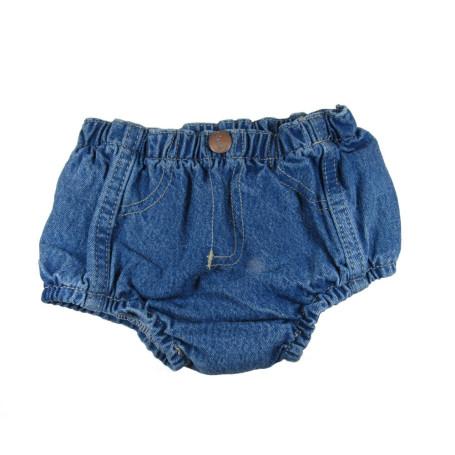 Short Classic Infantil Unissex Jeans Delave Cod 126