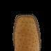 Bota Masculina Western Bico Quadrado Conhaque Cano Canela Avestruz Cheia Jácomo 153