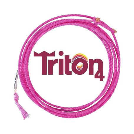 Corda para Laço em Dupla Team Roping 4 Tentos Vinho Triton Rattler 2118