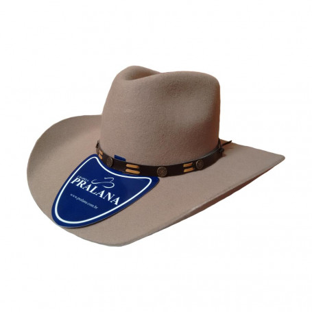 Chapéu Unissex Country Rodeo 2002 Feltro Aba 8 Pralana 2790