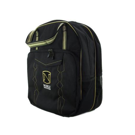 Mochila de Nylon para Laço Team Roping Preto com Dourado Noble Outfitters 4085