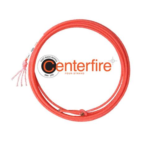 Corda para Laço em Dupla Team Roping 4 Tentos Vermelha Center Fire Fast Back 4393