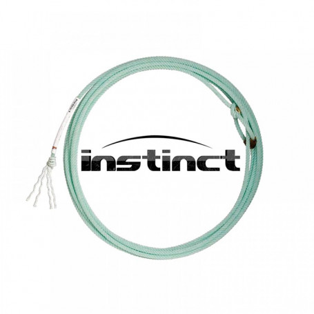 Corda para Laço em Dupla Team Roping 4 Tentos Azul Instinct Fast Back 4393