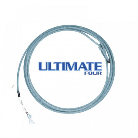 Corda para Laço em Dupla Team Roping 4 Tentos Azul Ultimate Fast Back 4393