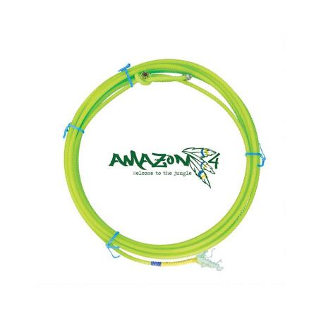 Corda para Laço em Dupla Team Roping 4 Tentos Verde Amazon Precision 4438