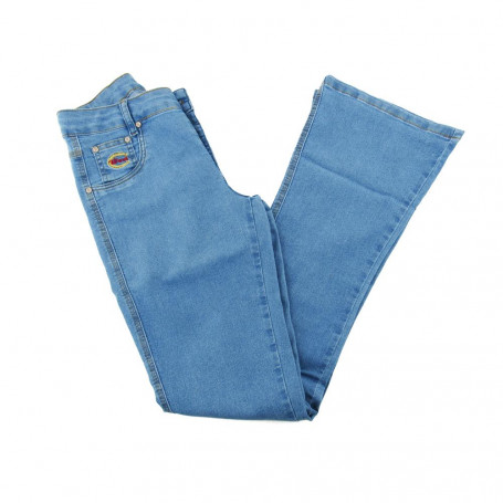 Calça Jeans Feminina Delave Flare West Country 5187