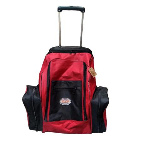 Mochila Com Rodinha Vermelha / Preto Freedom cod 5322
