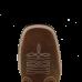 Botina Country Masculina Bico Quadrado Fossil Oliva Passo Livre - Nashville 6472