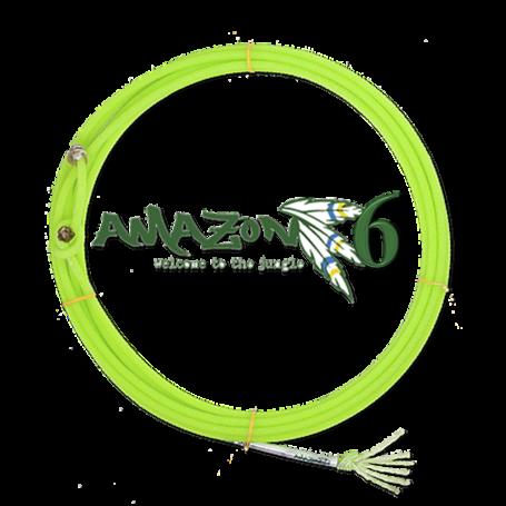 Corda para Laço em Dupla Team Roping 6 Tentos Verde Amazon Precision 7179