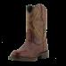 Bota Unissex Western Bico Redondo Pinhão Cano Plissado Tatu Passo Livre - Nashville 813