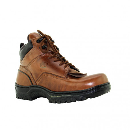 Boot Tênis Country Coturno Unissex Chocolate com Franja Removível Passo Livre 814