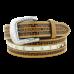 Cinto Unissex de Couro com Strass Adoniro 8350