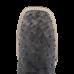 Bota Masculina Western Bico Quadrado Tabaco com Preto Cano Fossil Oil Preto Avestruz Cheia Jácomo 8428