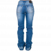 Calça Jeans Feminina Be Loved Zenz Western 8555