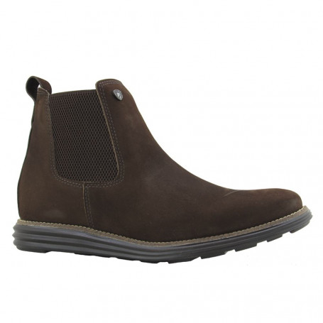 Botina Fazenda Boots Confort Crazy Castanho Areia 9482